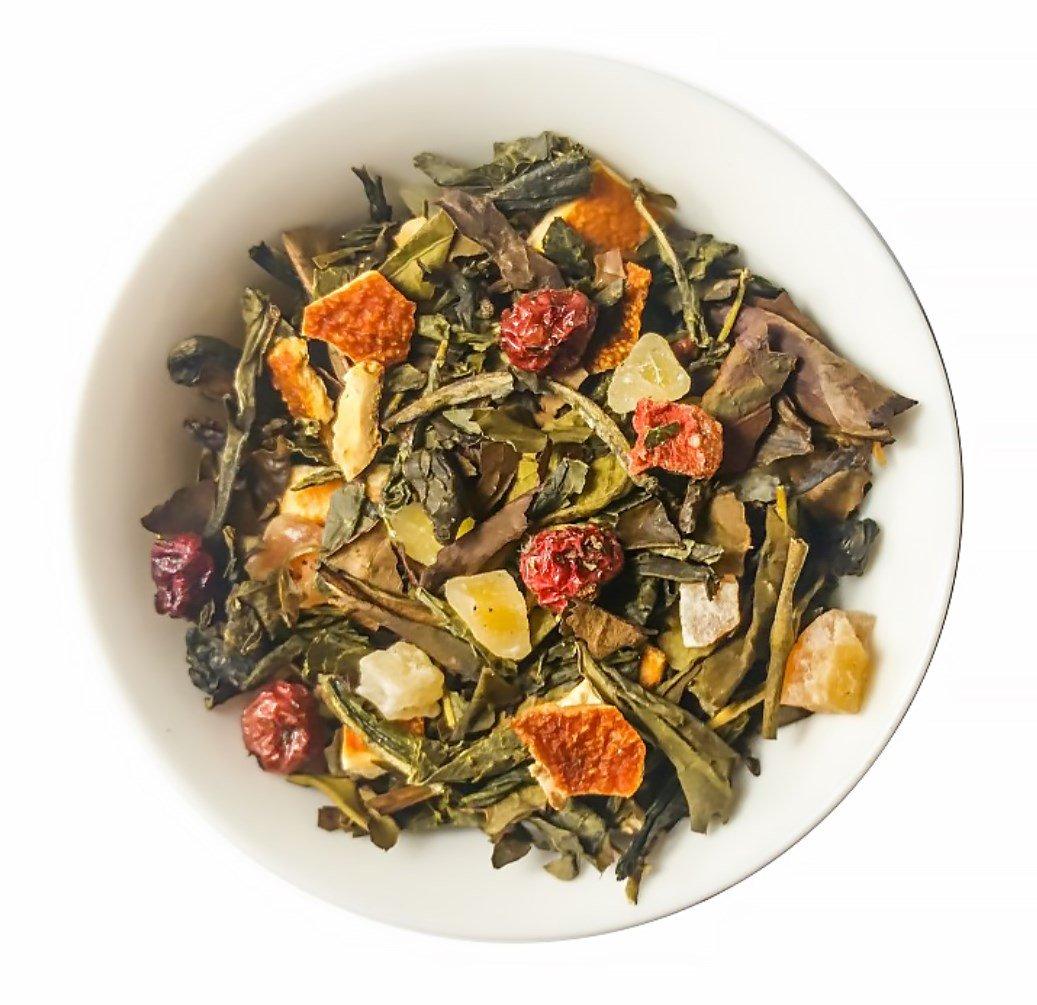 Mahalo Tea Peach Serenity White & Green Tea - Loose Leaf Tea - 2oz by Mahalo Tea (Image #1)