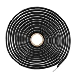 X AUTOHAUX 12 Ft Butyl Sealant Tape Sound Deadening Rope Tape for Car RV Windshield Headlight Door