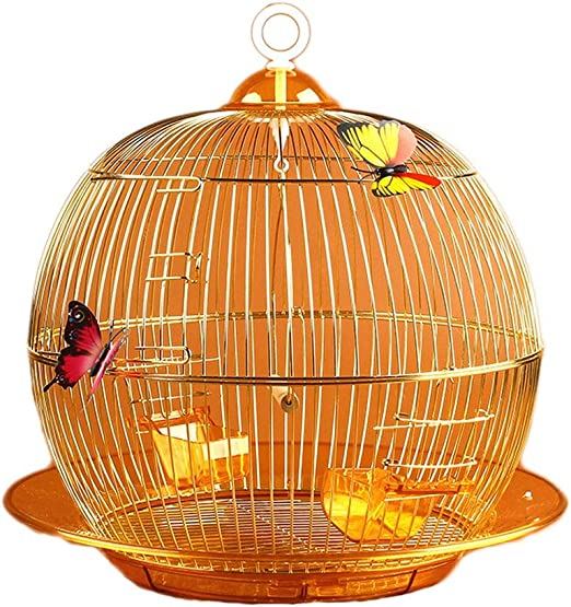 Hjd-cama para perros Boutique de Moda Jaula de pájaros de Metal de Hierro Forjado Jaula de pájaros Decoración de Jaula de periquitos Jaula de cría Ornamental: Amazon.es: Hogar