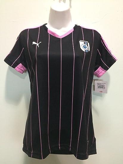 QUERETARO GALLOS BLANCOS black-pink woman jersey playera puma 2015-2016  proyect (Medium 47f3cf7450d5b