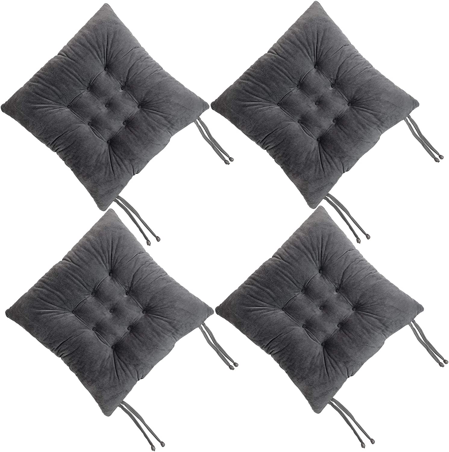 Soft Sofa Pad Chair Cushion Tie on Seat Dining Room Kitchen Office Bedroom Decor