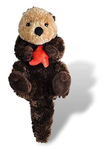 Amazon Com Wild Republic Sea Otter Plush Stuffed Animal Plush Toy