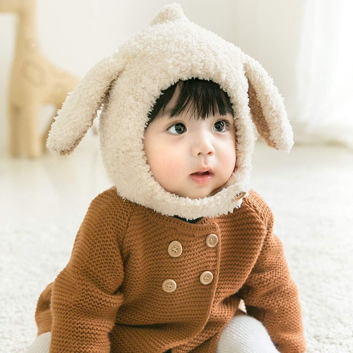 DORRISO Bonnet Enfant Casquette Protection du Cou Set T/ête Encapuchonn/ée Printemps Tomber Hiver Gar/çon Fille Chapeaux B/éb/é Mignonne Chat Chapeaux,taille unique,Gris