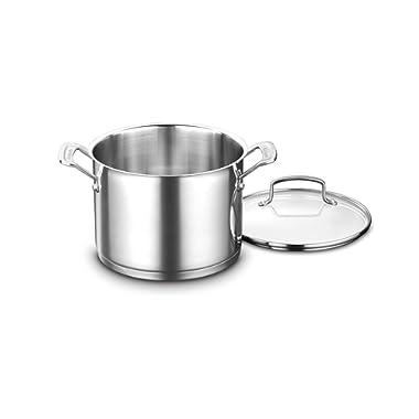 Cuisinart 8966-22 6-Quart. Stockpot w/Cover, Stainless Steel