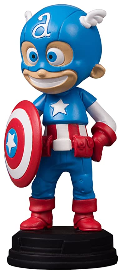 "Amazon.com: Gentle Giant Captain America Animated Marvel Statue, Full Color, 8 x 2 x 2.5"": Toys & Games"