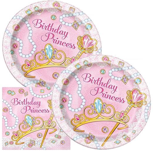 Princess Party Bundles for 16 Guests