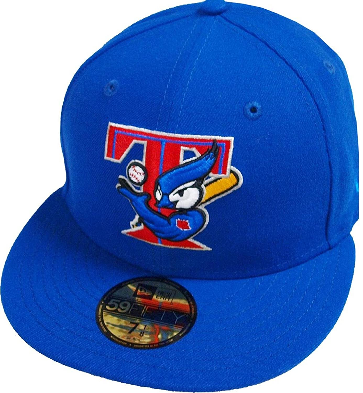 A NEW ERA Toronto Blue Jays Light Royal Cooperstown MLB Cap 59fifty 5950  Fitted Basecap Kappe d4024047b2d
