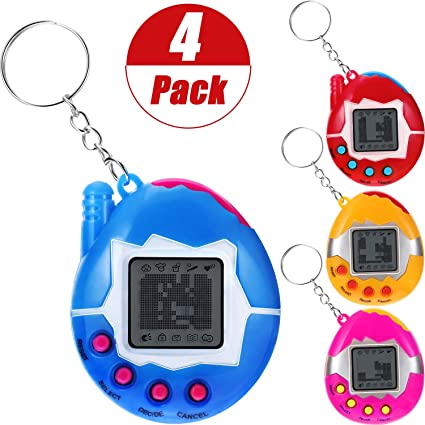 Tamagotchi style Electronic Pet Toy On Key chain New In Pack With..