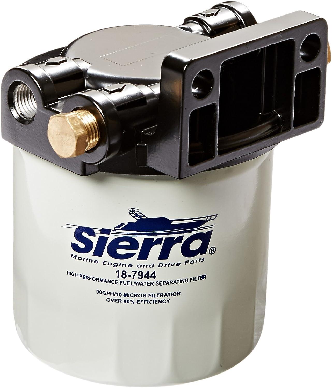 Amazon.com: Sierra 18-7983-1 10 Micron Fuel/Water Separator Kit - 1/4