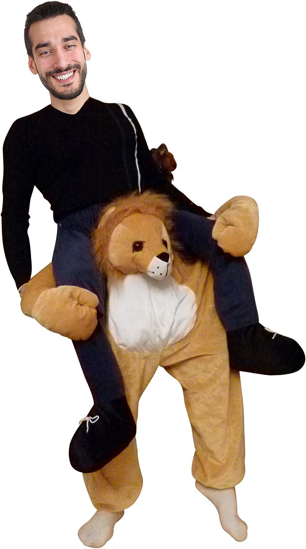 Costume de Lion Hommes Couples Adultes Ikumaal F101 Costume de Fantaisie de Carnaval