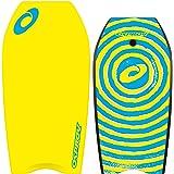 Osprey Planche de bodyboard pour enfants/adultes Motif spirale, Planche lisse et tail croissant–94cm, Enfant, XPE Spiral
