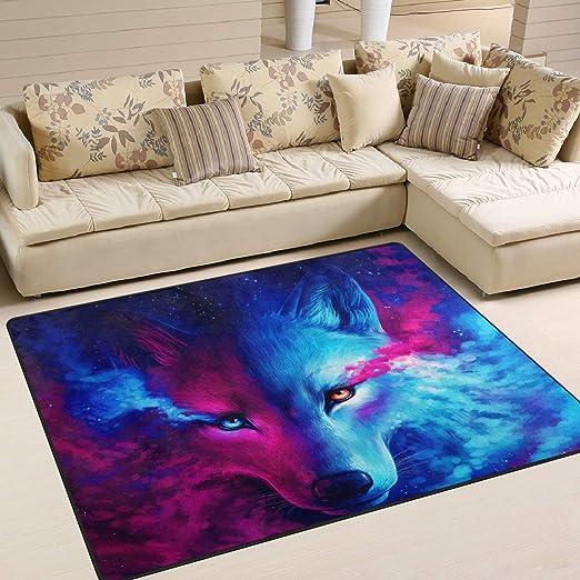 Animal Cat Nursery Rug Floor Carpet Yoga Mat 2 x 3 ft 60 x 90 cm Naanle Cat Oil Painting Cat Non Slip Area Rug for Living Dinning Room Bedroom Kitchen