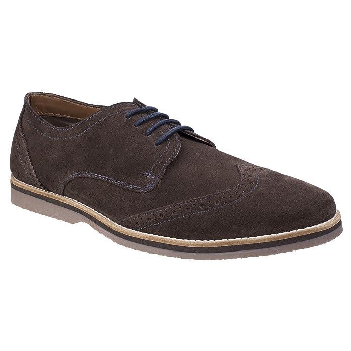 Mens Sebastian Wingtip Lace Up Shoes (9 US) (Brown)
