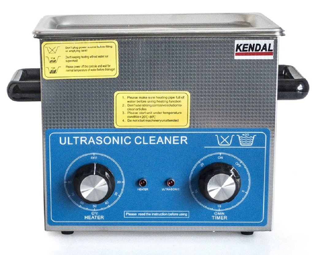 Kendal Commercial Grade 220 Watts 3 Liters Ultrasonic Cleaner HB-23MHT by Kendal