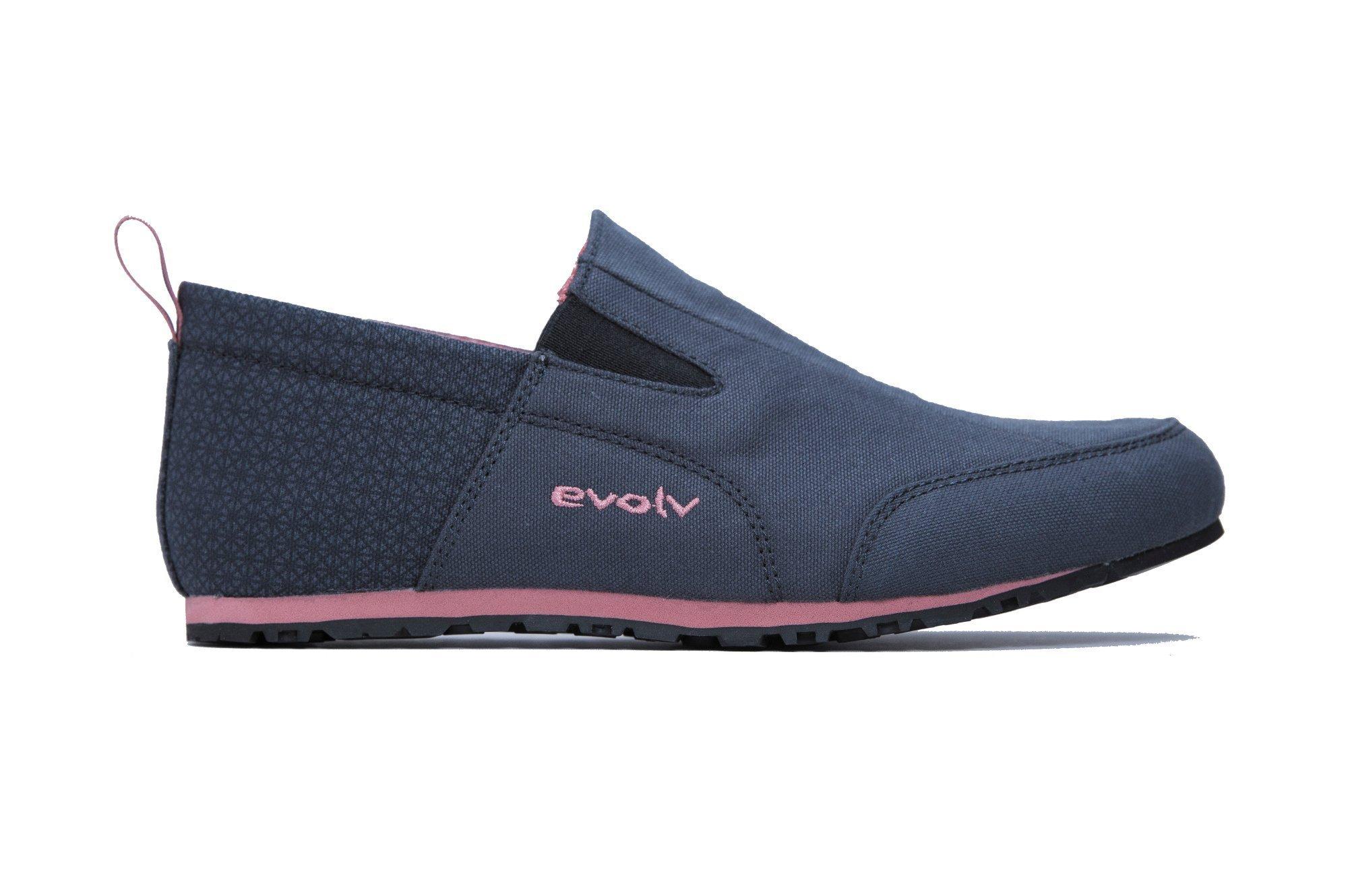 Evolv Cruzer Slip-on Approach Shoe - Women's Phantom/Canyon Rose 6