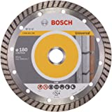 Bosch 2608602396 Disque à tronçonner diamanté Standard for Universal Turbo 180 x 22,23 x 2,5 x 10 mm Pack de 1