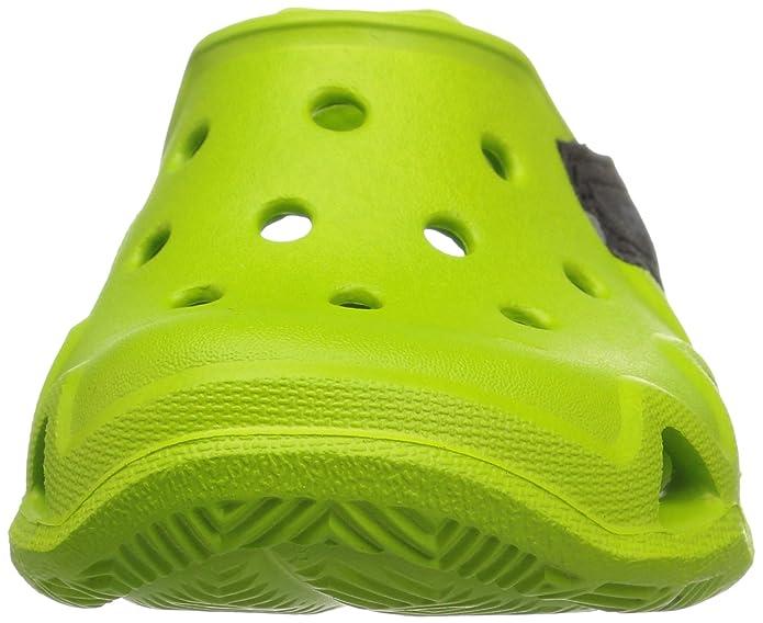 Crocs 204021, Stringate Oxford bambini Unisex, Verde (Mint Pink Lemonade), 30/31 EU