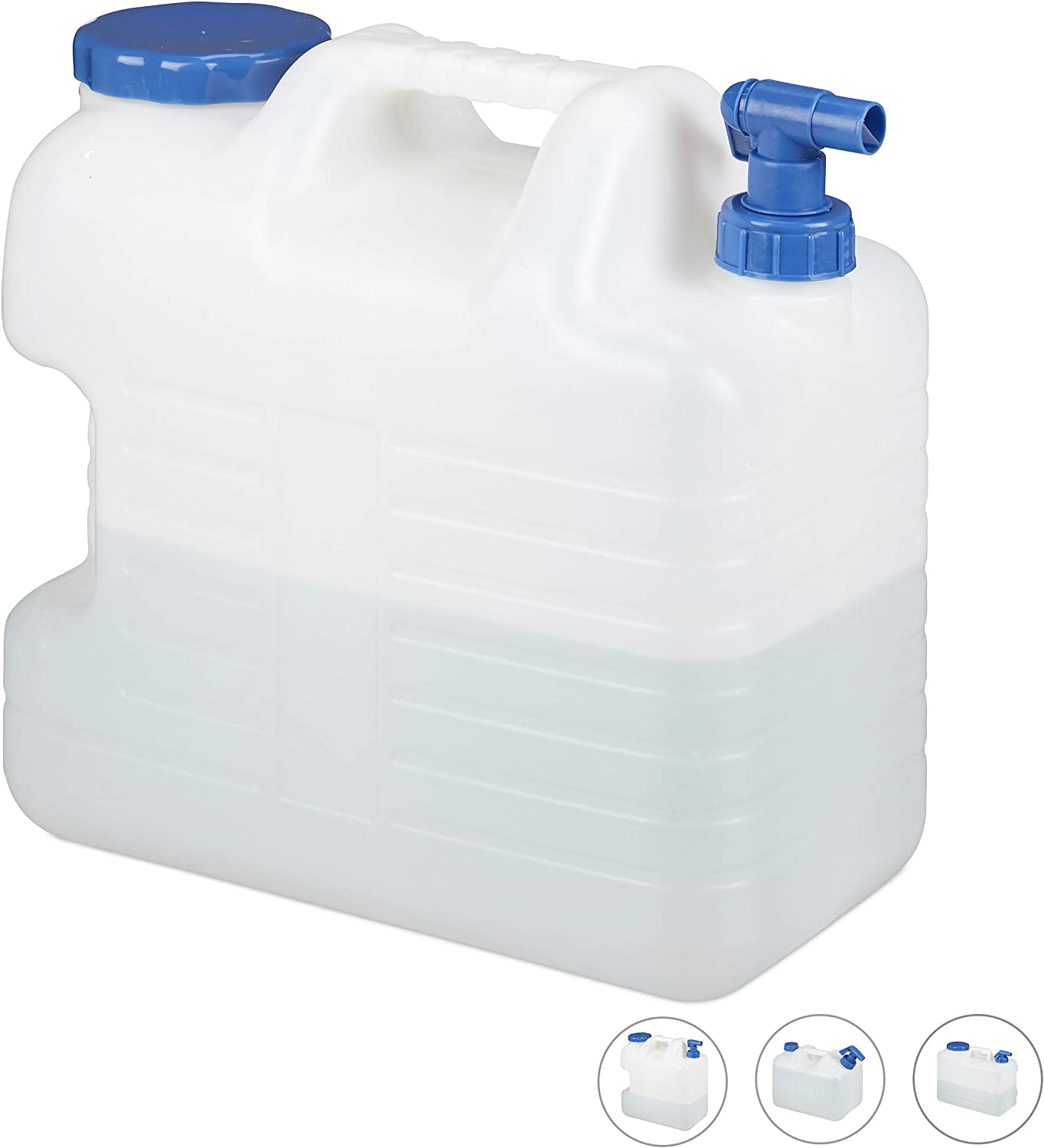 Water storage container 20L Camping Canister Garden Tank Bottle Jerry Can Picnic