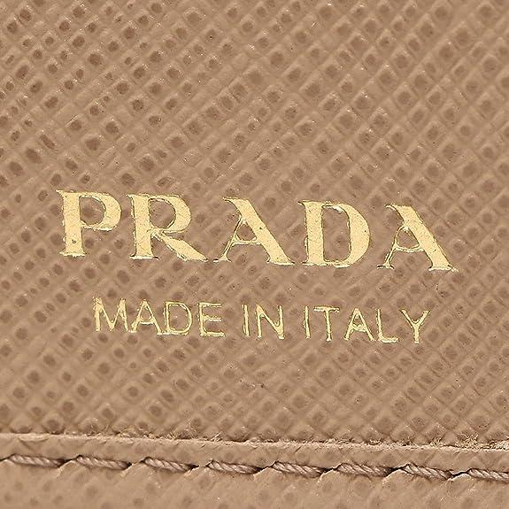 7bf6dc482bce Amazon | プラダ 財布 PRADA 1MH523 QME F0770 SAFFIANO METAL レディース 二つ折り財布 無地  CAMMEO [並行輸入品] | PRADA(プラダ) | 財布