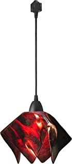 product image for Jezebel Signature JRBL-FP12-AZA-TRBL Black Flame Track Light, Small, Azalea