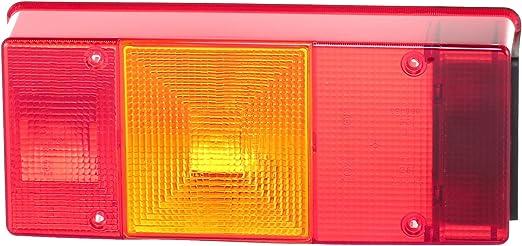 HELLA 9EL 134 301-001 Lichtscheibe Kennzeichenleuchte links//rechts Einbauort