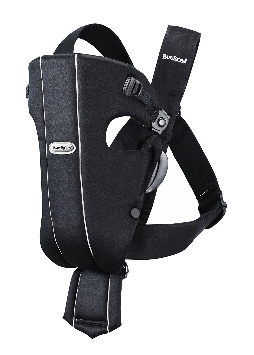 Cotton Black BABYBJORN Baby Carrier Original