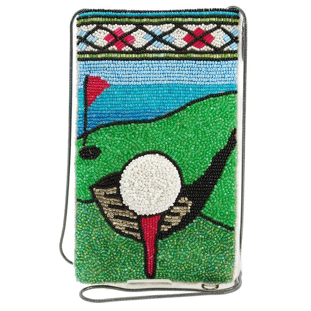 Mary Frances Fairway Crossbody Phone Bag, Multicolor