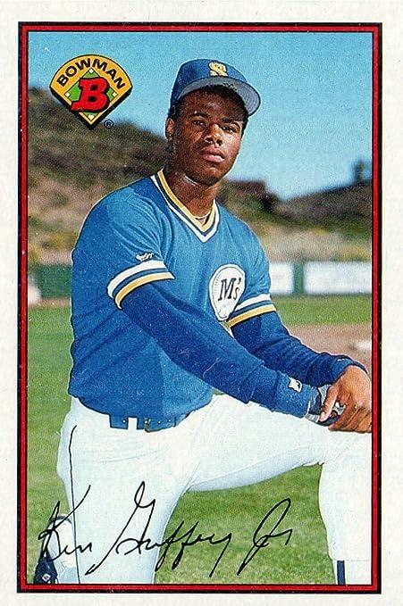 Amazoncom 1989 Ken Griffey Jr Rookie Card Bowman Baseball
