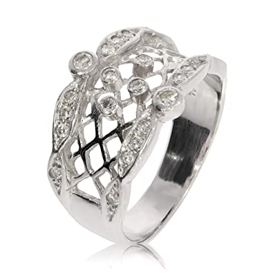 amazon bague diamant