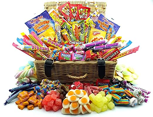 Truly sumptuous easter gift hampers the most decadant xxl large truly sumptuous easter gift hampers the most decadant xxl large real wicker retro sweet hamper negle Gallery