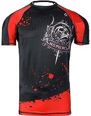 Camiseta de neopreno para Artes Marciales Mixtas (MMA) con capa base de  compresi oacute  9a16294bb82a