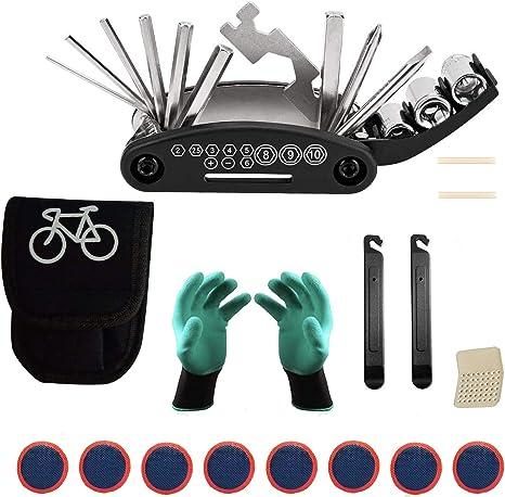 HIQE-FL Kit Pinchazos Bicicleta Montaña,Kit de Parches de Bici ...