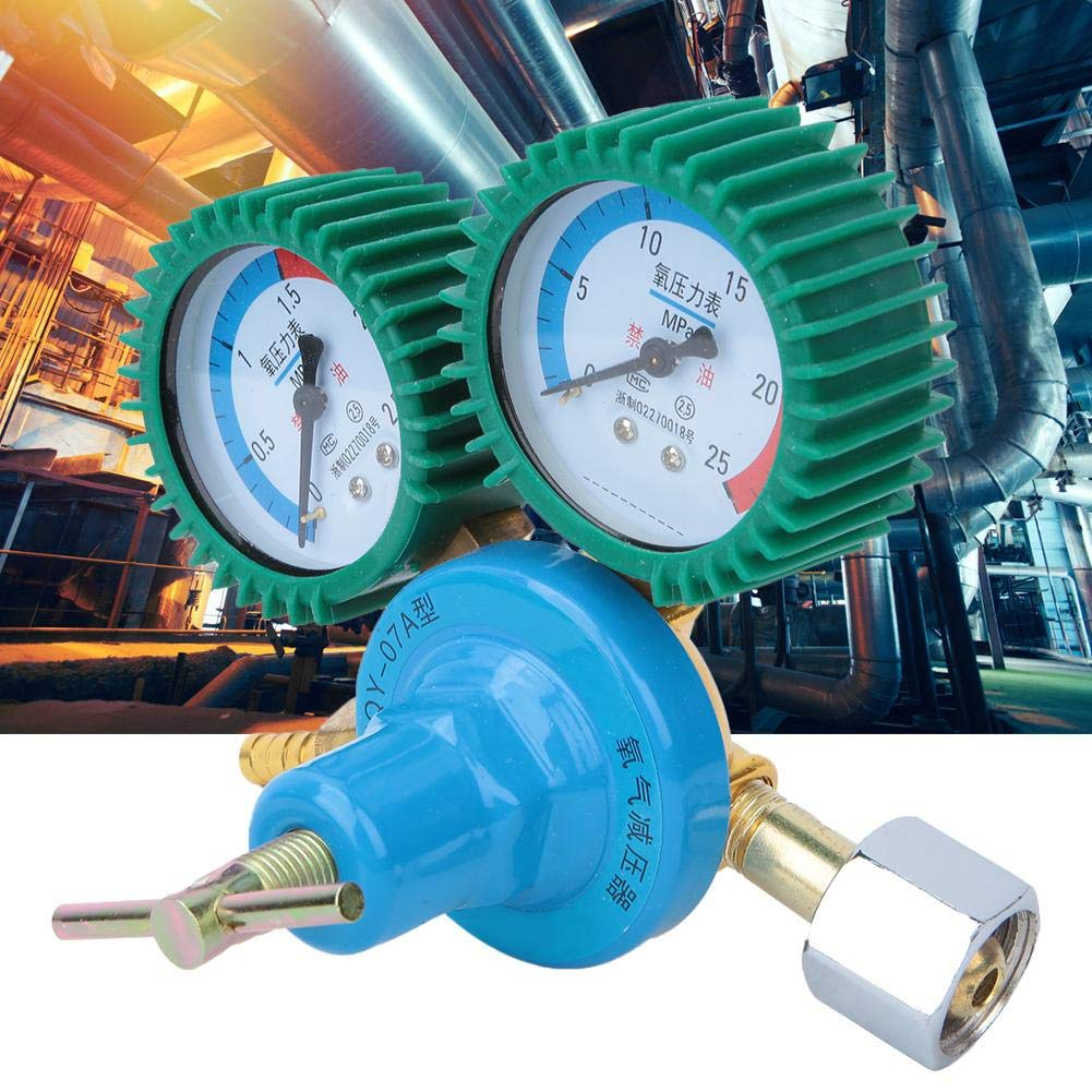 m/édical Robinet r/éducteur de pression de jauge doxyg/ène Ac/étyl/ène complet de connecteur dadmission dair en cuivre Accessoires de soudage R/égulateur de pression pour le soudage Oxygen
