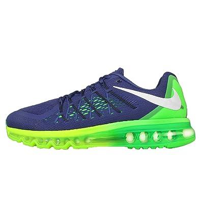 big sale 0f673 d5695 Nike Men s Air Max 2015, Sprite-Deep Royal Blue Black-Volt-