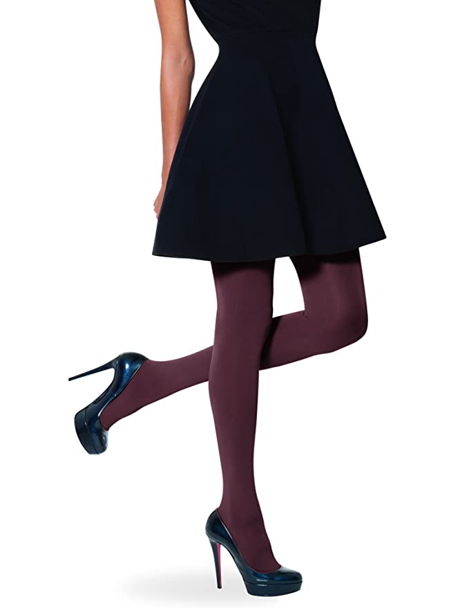 No Nonsense Womens Super Opaque Control Top Tights 3 Pack At Amazon