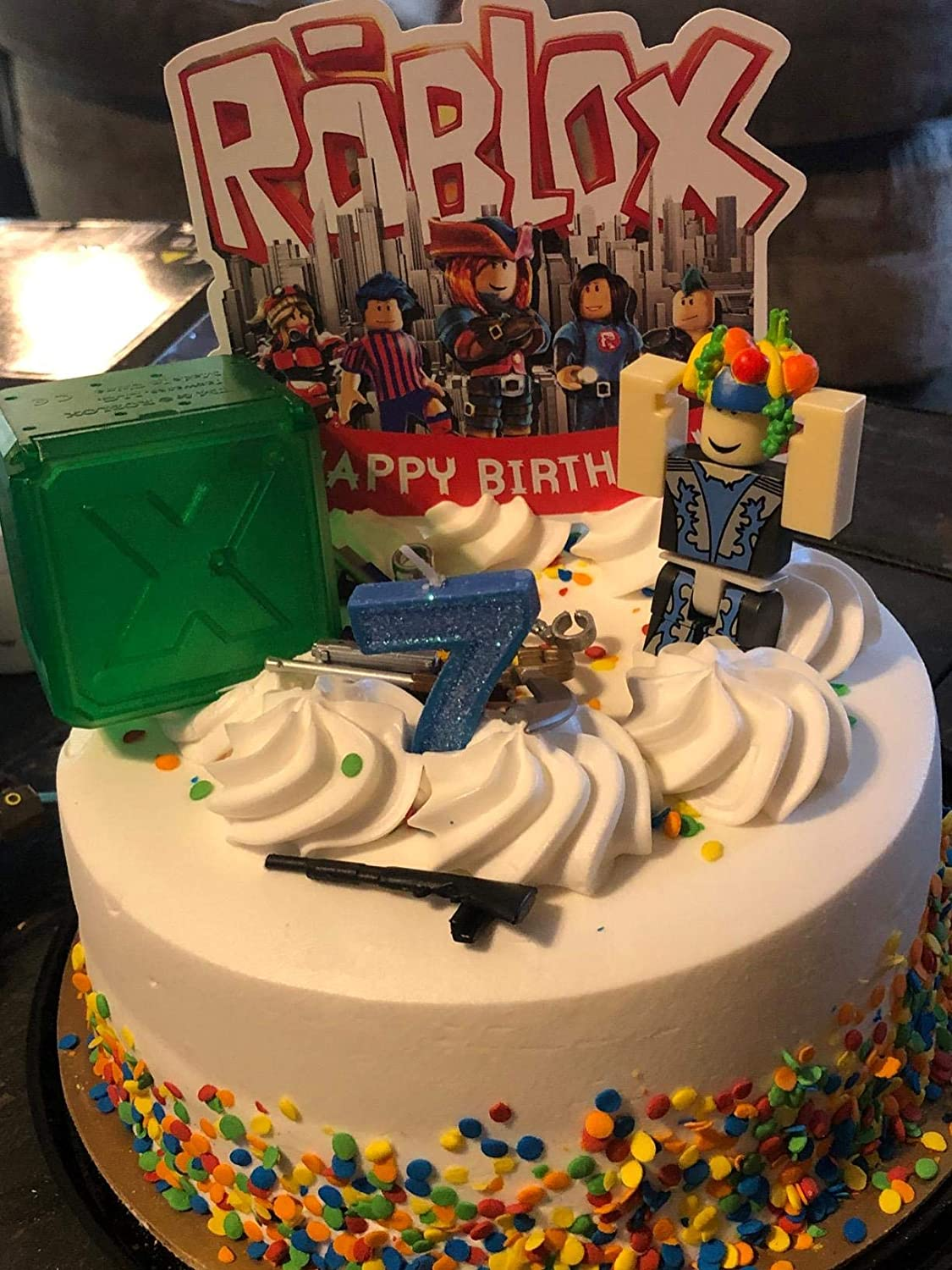 Cake Decorations For Roblox Cake Topper Birthday Party Supplies