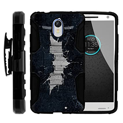TurtleArmor | Motorola Droid Turbo 2 Case | Moto X Force | Kinzie [Hyper Shock