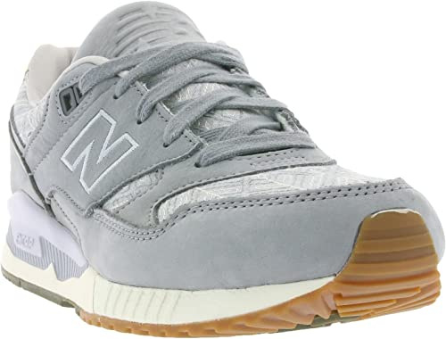 Amazon.com: New Balance Mujer 530 (Suits & sneaks), Gris, 9 ...
