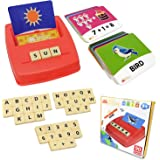 Flash Cards Matching Sight Words Alphabet & Math Board Games Toys for Toddlers & Kids – ABC Educational Learning Montessori S