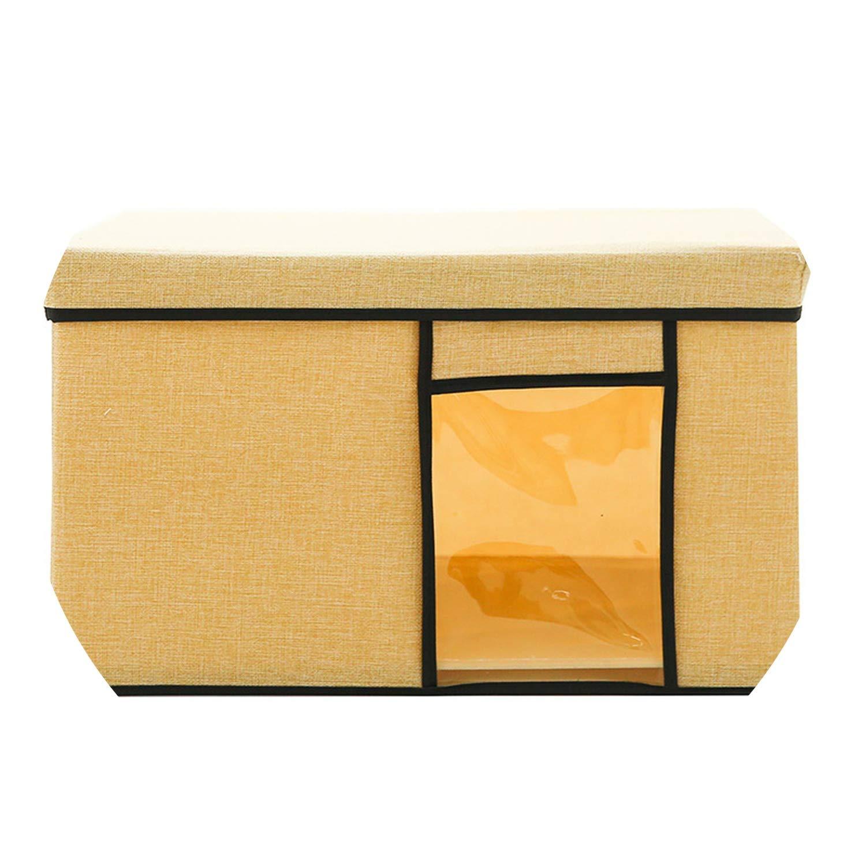 Amazon Com Oxford Clothes Storage Box Foldable Underwear