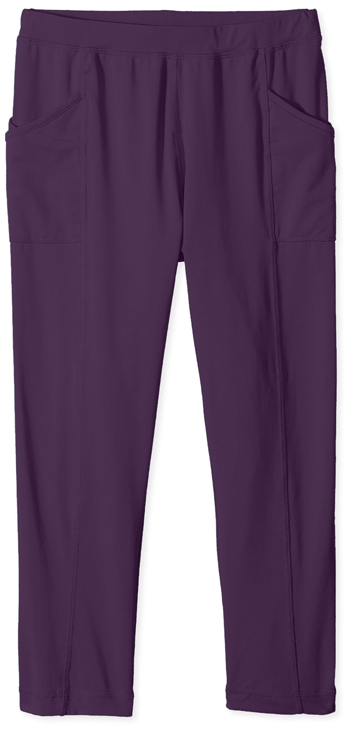 White Sierra Girl's Bug Free Leggings, Shadow Purple, Small by White Sierra (Image #1)