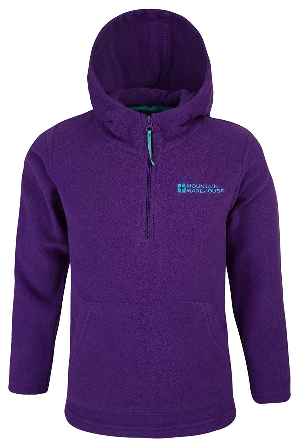 Mountain Warehouse Camber Mikrovlies-Kapuzenpulli für Kinder