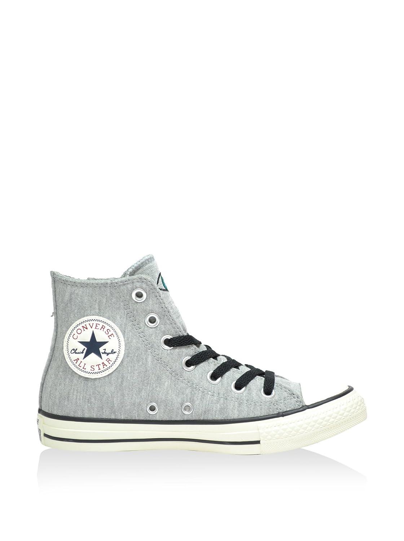 Nuances de gris Converse All Star Hi, paniers Montantes Mixte Adulte