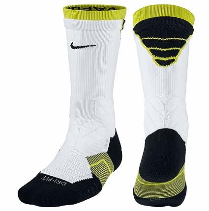 Nike Dri-Fit 2.0 Vapor Elite tripulación Calcetines de fútbol, Blanco