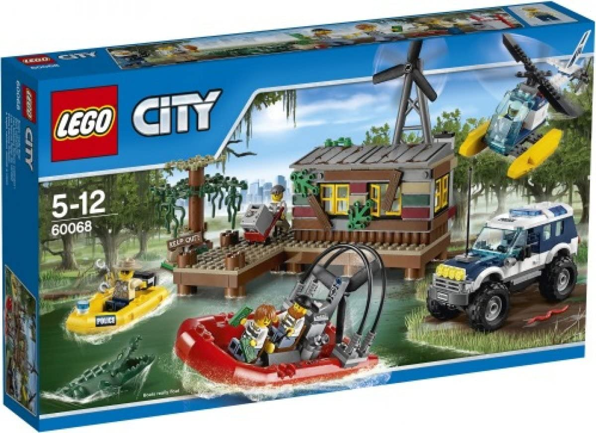 Lego City swamp hideout 60068