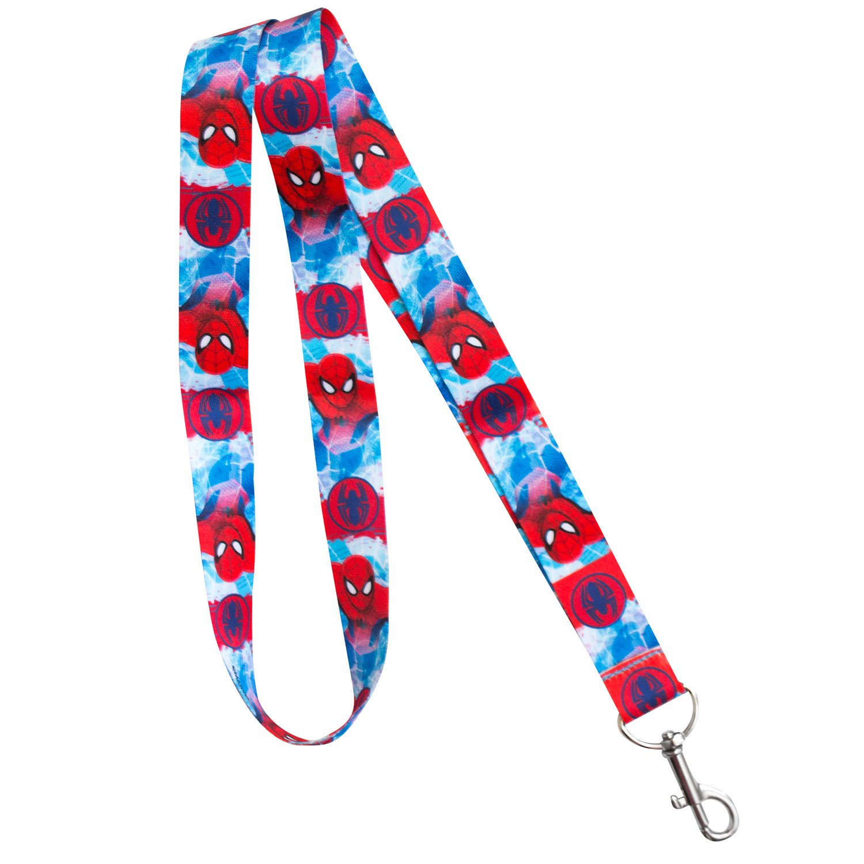 Spider-man Lanyard Key Chain & Key Holder
