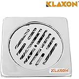 Klaxon Stainless Steel Anti-Cockroach Floor Drain (Silver)