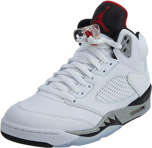 Air Jordan 5 Retro 'White Cement
