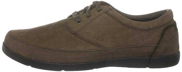 crocs Ellicott, Mocasines para Hombre, Marrón, 40.5 EU: Amazon.es: Zapatos y complementos