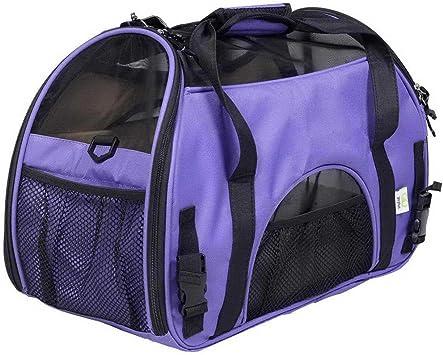 Transportín de Viaje para Mascotas, pequeño y Grande, para Gatos y Perros, Aprobado para Viajar en avión, portátil, Suave, Ligero: Amazon.es: Electrónica